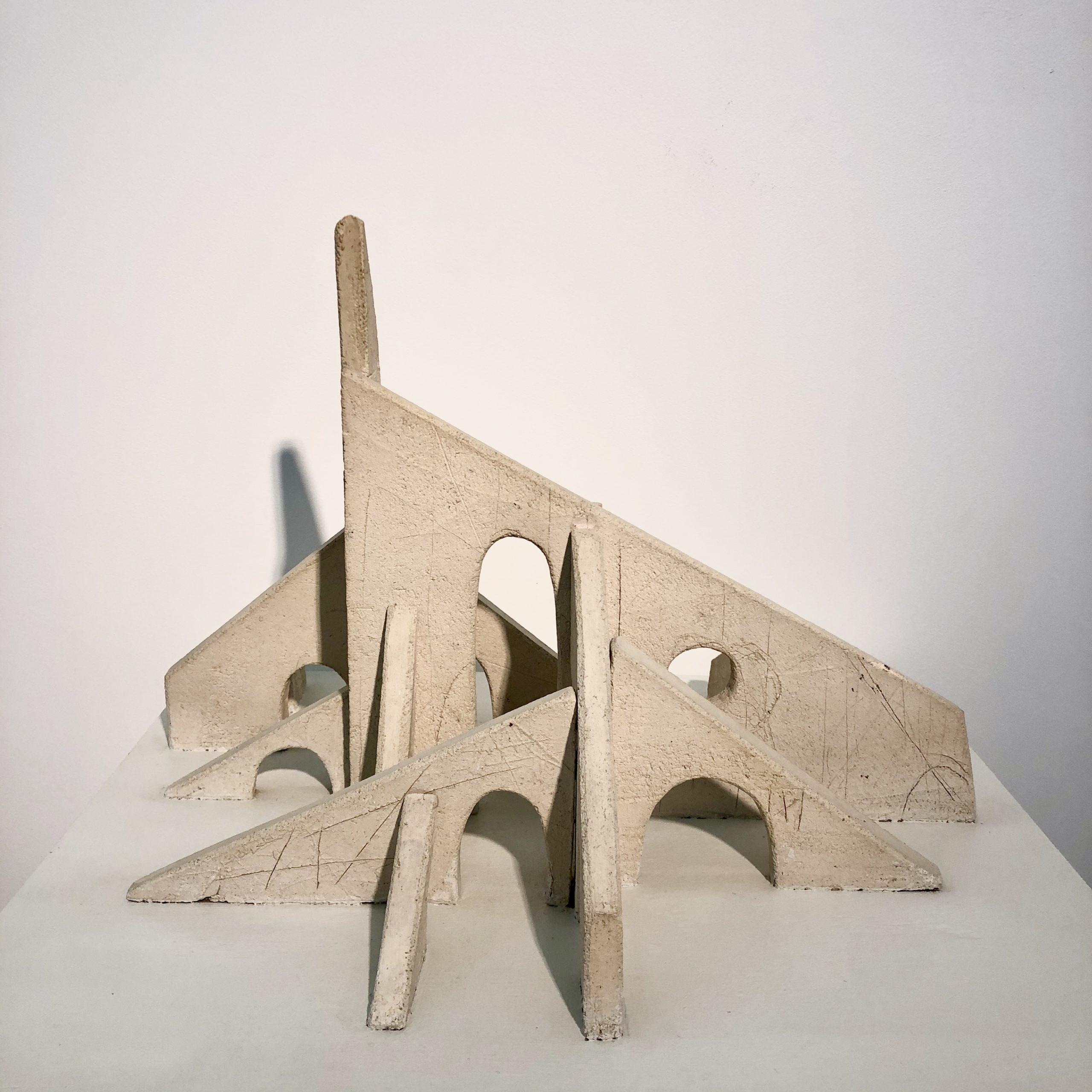 Maquette d'architecture en céramique