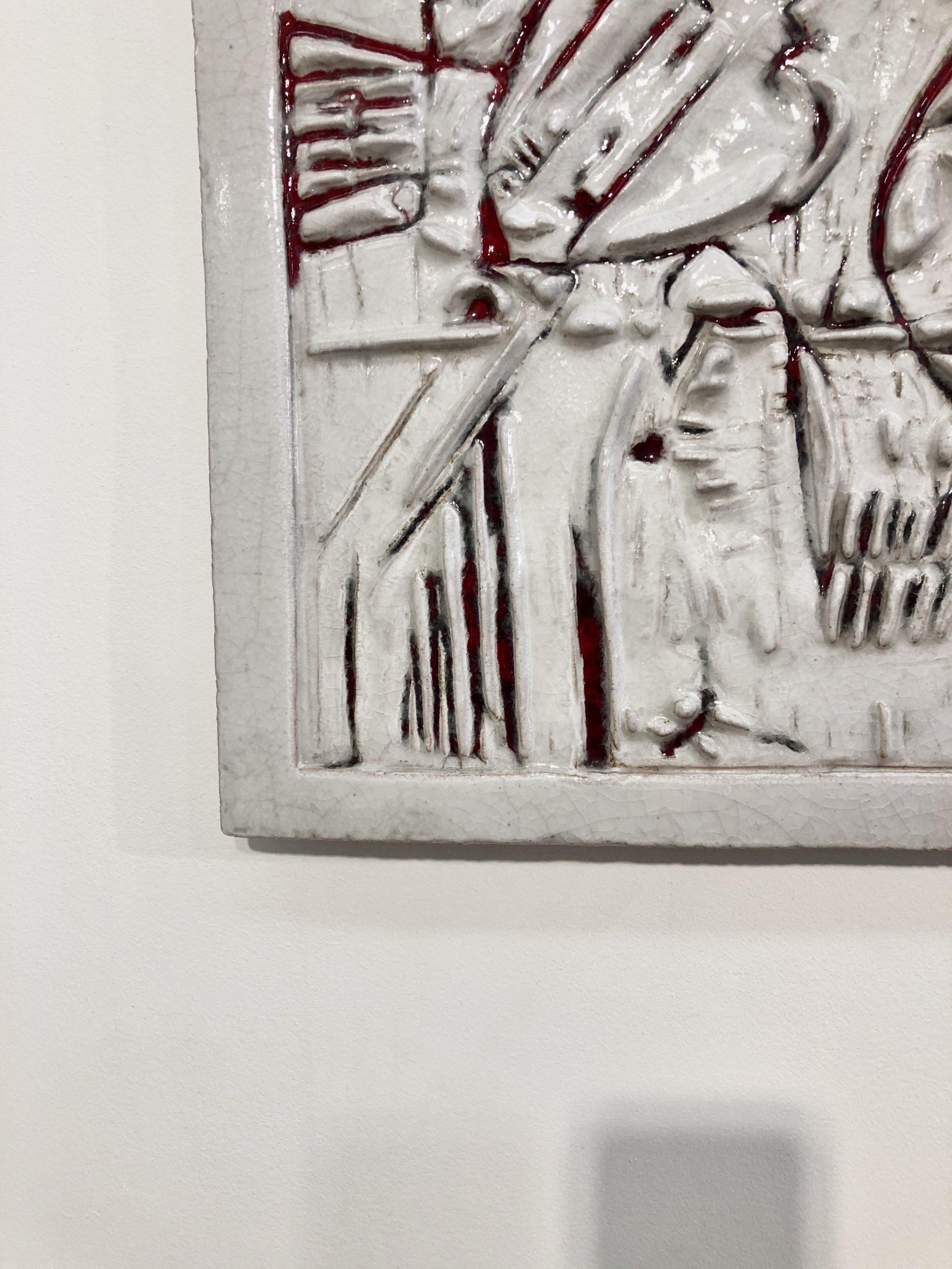 ZAULI-bas-relief-blanc-détail
