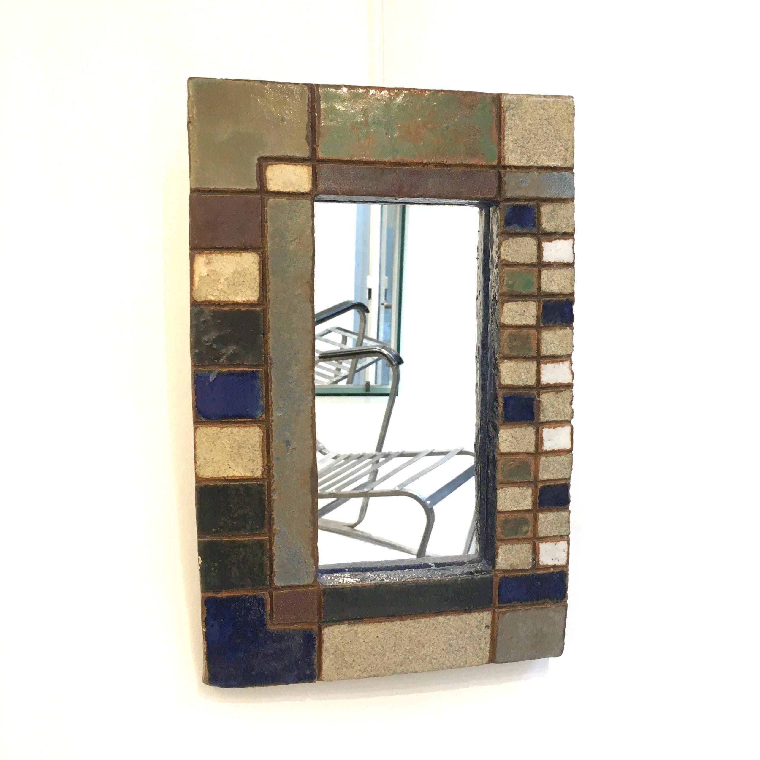 Miroir céramique 1 Les Argonautes Vallauris Galerie Avenir bis