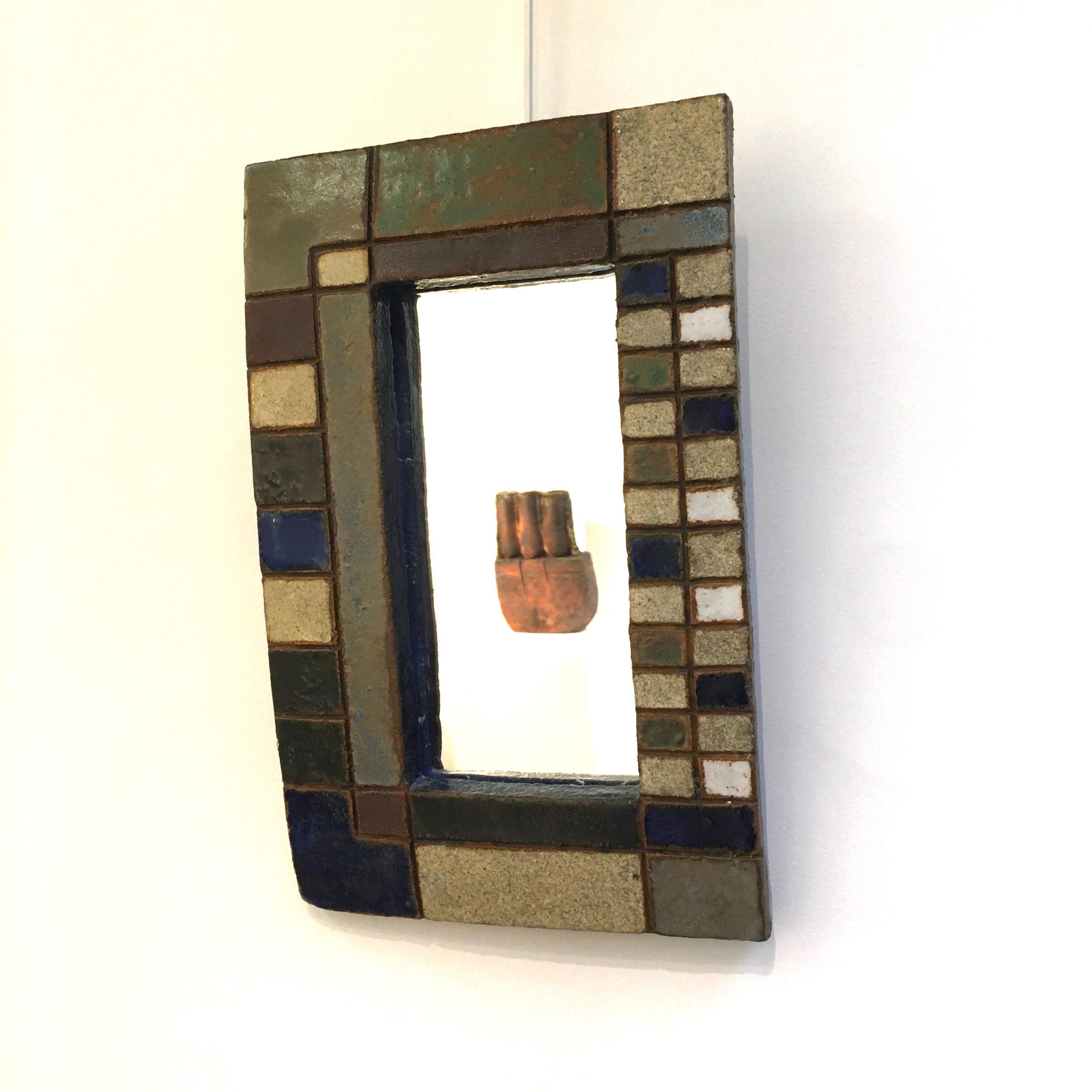 Miroir céramique 1 Les Argonautes Vallauris Galerie Avenir