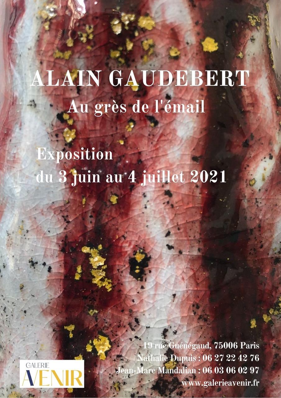 Exposition céramique Alain Gaudebert - Au grès de l'émail - Galerie Avenir