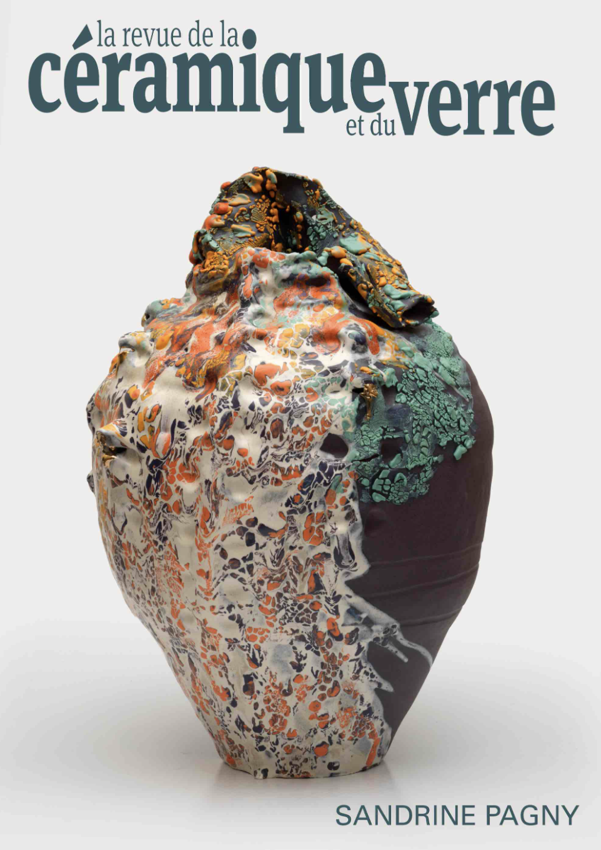 Revue-céramique-et-verre-première-page-galerie-avenir-alain-gaudebert